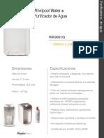 WK9001Q (purificador + filtro) sales spec 2018