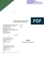 2018 CV 3410 Distributor Complaint