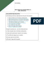 Evaluacion Unidad III Aplicacion Ingles