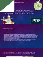 Alimentacion Sana y Ectv.fisica