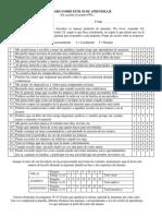 Inventario Sobre Estilos de Aprendizaje
