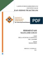 Fermentasi Nata de Coco