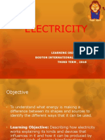 Step 4 Science - Electricity PPT 3rd Term 2018