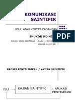 Komunikasi Saintifik Proposal Bm