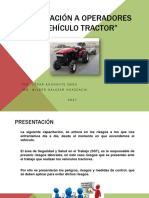 Capacitació Operadores de Tractor