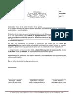 Carta Invitación