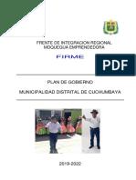 Plan de Gobierno Cuchu