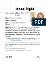 updated science night flyer