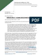 TEC Letter to Mayor Goldring