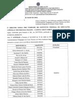 Portaria 034_2018 - Altera a Portaria n° 021 2018 que constitui o Núcleo de Assessoramento Pedagógico do Curso Técnico em Meio Ambiente Integrado
