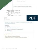 OPL -Exercícios de Fixação - Módulo II TESTE 1