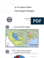 Corpus Christi — Raw Water Supply Strategies