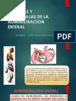 VENTAJAS Y DESVENTAJS DEL ADMINISTRACION ENTERAL.pptx