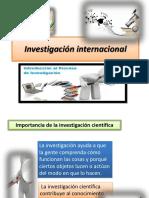 Investigación Internacional