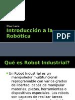 Introduccion a la  Robotica   por Chao Huang