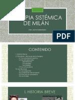 Terapia Familiar Sistemica de Milan