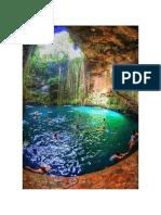 Yucatan Cave Lake, Mexico