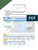 Examen de Informatica e Internet (Powerpoint)
