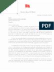 Carta Ejercito de Chile a BioBioChile
