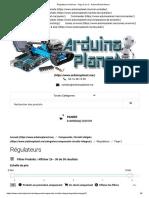 Régulateurs Archives - Page 2 Sur 2 - ArduinoPlanet Maroc