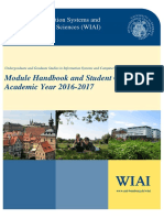 WIAI-Modulehandbook 2016-2017 August 2016