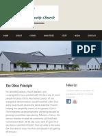 The Oikos Principle – Northland Community Church