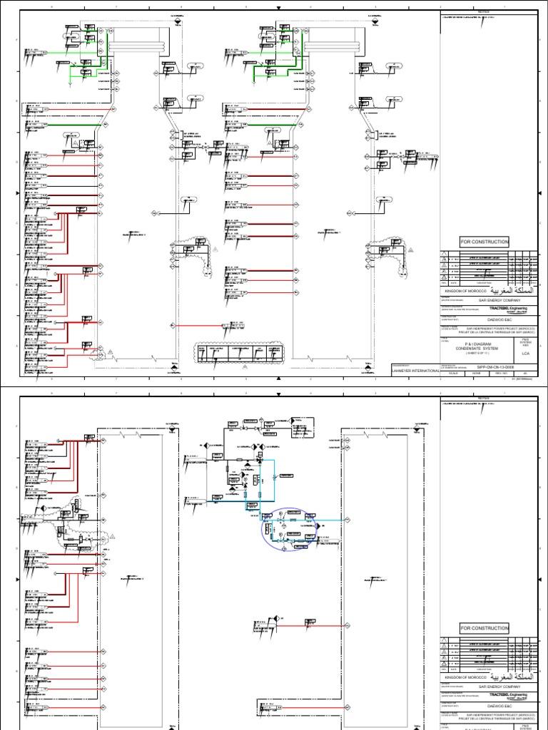 Condensor Vaccum 관련 P Id Vacuum Line Final