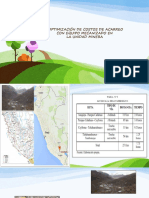 Optimización de Costos de Acarreo Con Equipo mecanizados en mineria