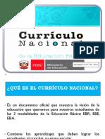 Diapositivas Del Currículo Nacional