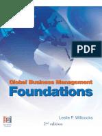 Global Business Management Foun - Leslie P Willcocks