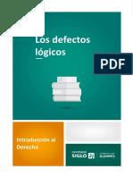 3-Los Defectos Lógicos
