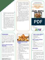 triptico Jalea mixta