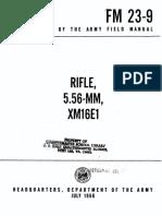 RIFLE, 5.56-MM, XM16E1