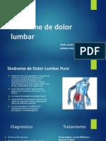 Sindrome Dolor Lumbar