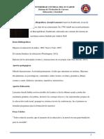 Fichas de Eduacion