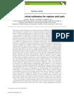 Newton et al 2016 Raptor survival review Ibis.pdf