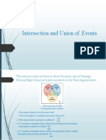 Intersection and Union of Events