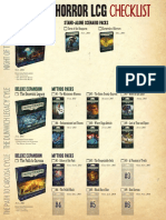 Arkham Horror LCG Checklist v1.1
