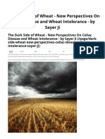 Fd Dark Side of Wheat - New Perspectives on Celiac Disease and Wheat