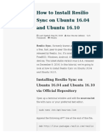 How to Install Resilio Sync on Ubuntu 16.04 and Ubuntu 16.10 - LinuxBabe
