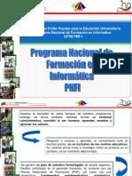 Programa Nacional de Formacion - Inf_2