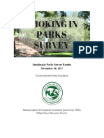 TMPF smoking in parks survey