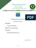 Informe de Industria Del Plastico Nuevo