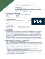 ITSDC 022-09 Oscar - Viv. Peligro Ferrocarril - Arica - Llimpe