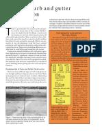 Concrete Construction Article PDF- Concrete Curb and Gutter Construction