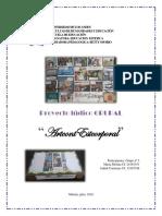 Proyecto Ludico Educacion Estetica Grupo Nº5