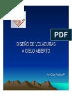 Diseño de voladuras a Cielo Abierto.pdf