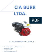 Catalogo de Repuestos Burr