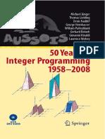 50 Years Integer Programming