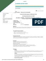 EMENTAS - 2200091 - Metodologia Da Pesquisa Científica II